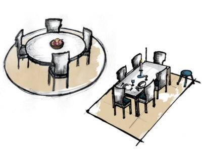 Abbildung 1: Teppich im Esszimmer (Quelle: Wecon Home)